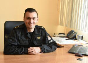 kpt. Konrad Krupa – Oficer Prasowy KP PSP w Rawie Mazowieckiej