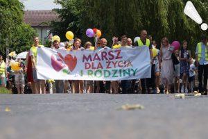 Marsz dla Życia i Rodziny w Rawie Mazowieckiej