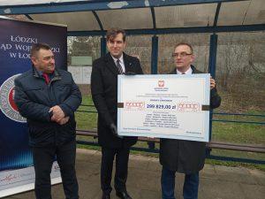 """Prawie 300 tys. z programu """"Przywracamy przystanki"""" dla łowickich połączeń autobusowych"""