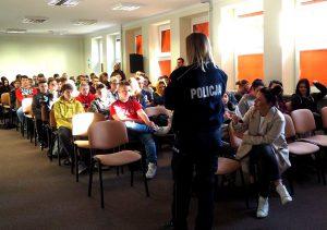 Prawa i obowiązki nieletnich, czyli profilaktyczne działania Policji w żyrardowskim Elektryku