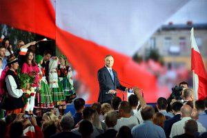 Wybory Prezydenckie 2020 Prezydent Andrzej Duda wygrywa pierwszą turę