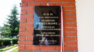 20-sto lecie parafii na Korabce i odsłonięcie tablicy poświęconej pamięci Bp. A. Orszulika