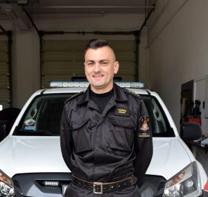 st.kpt. Konrad Krupa – KP PSP w Rawie Maz.