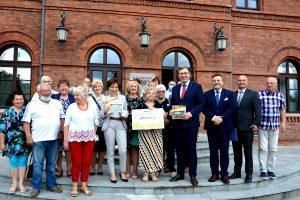 Wizyta Minister Rodziny, Pracy i Polityki Społecznej  w Żyrardowie i Sochaczewie
