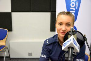 Monika Helińska Oficer Prasowy Komendanta Powiatowego Policji w Żyrardowie