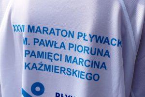 Maraton pływacki nad rawskim Zalewem