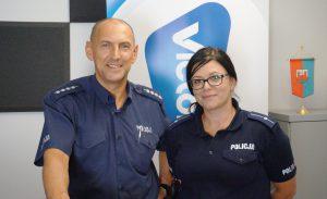 Agnieszka Dzik i Mariusz Józikowski – KPP Sochaczew