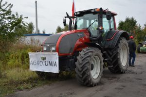 Rolnicy protestowali na DK 14