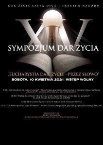 XV Sympozjum Dar Życia już jutro – ks. Grzegorz Gołąb