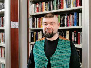 Zbigniew Pacho – dyrektor Miejskiej Biblioteki Publicznej w Rawie Mazowieckiej