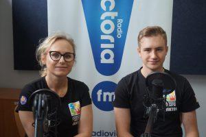 Wiktor Tarnowski oraz Anna Tarnowska ze Skierniewickiego Stowarzyszenia Sportowe Wariacje
