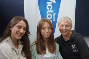 Agnieszka Madej, Małgorzata Miklaszewska oraz Natalia Jędrzejewska ze Szkoły Tańca Art – Station w Skierniewicach