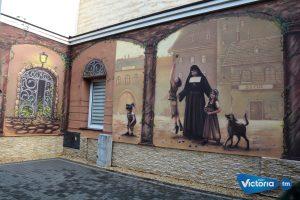 W drodze do świętości – mural z bł. Bolesławą Lament