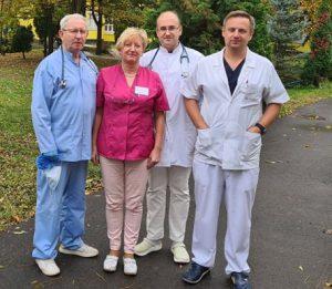 Medycy z rawskiego szpitala docenieni za walkę z pandemią